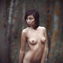 Forest by Павел Рыженков - Nudes & Boudoir Artistic Nude ( erotic, nude, girl, outdoors, cute, people, portrait )