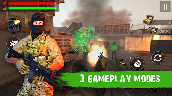 Zombie Shooter Hell 4 Survival Screenshot