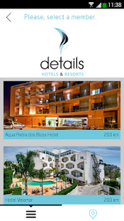 Details Hotels & Resorts - screenshot