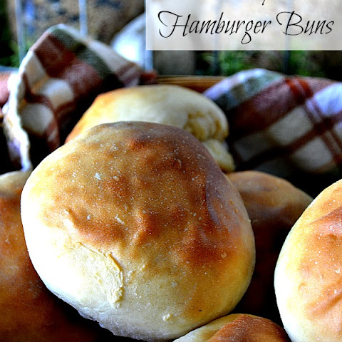 Easy Hamburger Buns