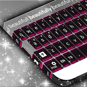 App Pink Chrome Keyboard Theme APK for Windows Phone