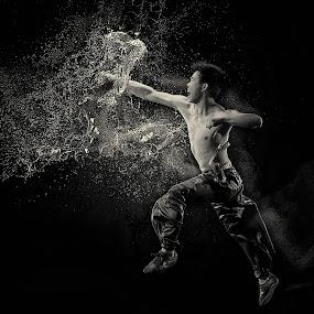 Limitless... by Joni Irwanto - People Fine Art ( strobist, indonesia, pwcprofiles, wushu )