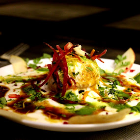 PAPDI CHAT .......INDIAN STYLE .... by Sushant Ojha - Food & Drink Plated Food (  )