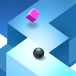 Zig Zag Light Ball Icon