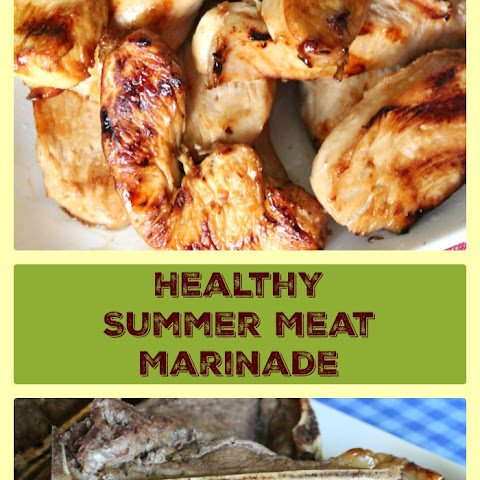 Healthy Summer Meat Marinade