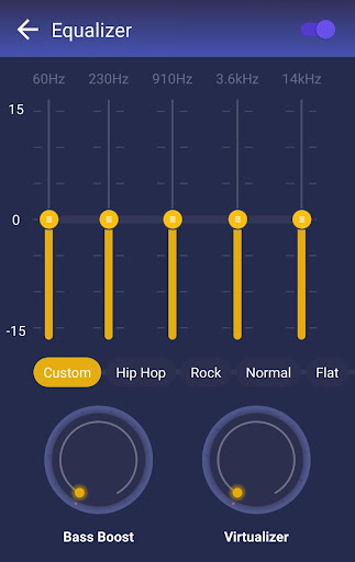GO Music - Free Music, Equalizer, Themes screenshot 7