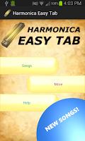 Screenshot of Harmonica Easy Tab