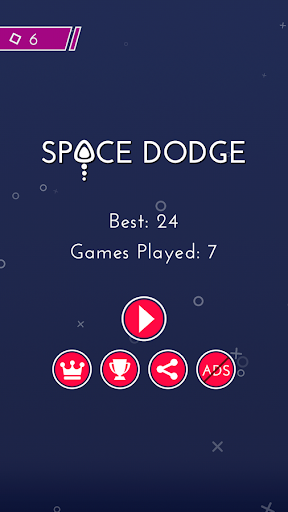 Space Dodge - screenshot