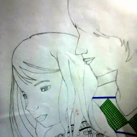 My recent drawing! <3 by Tejas SHinde - Drawing All Drawing