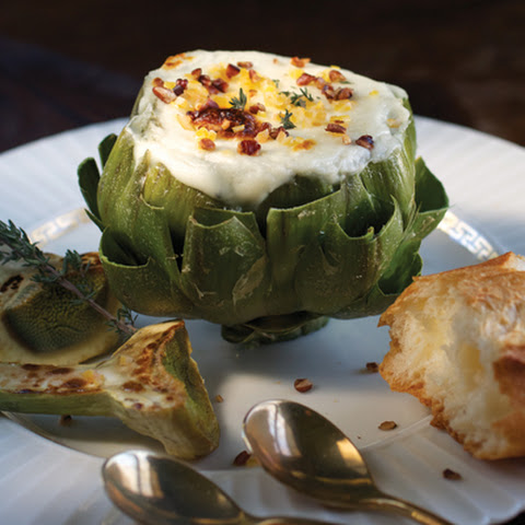 Artichokes and Mornay