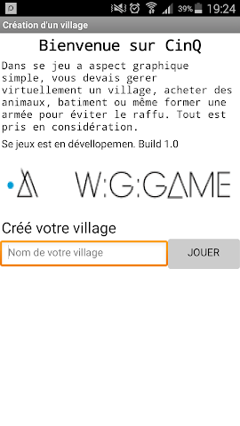 android CinQ : Construit ton village Screenshot 1
