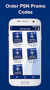 Free Promo Codes for PSN APK for Bluestacks
