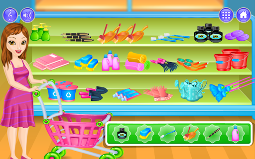 Supermarket Game For Girls For PC