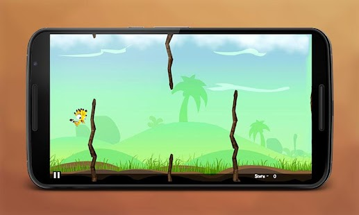Flappy CuteBird - screenshot