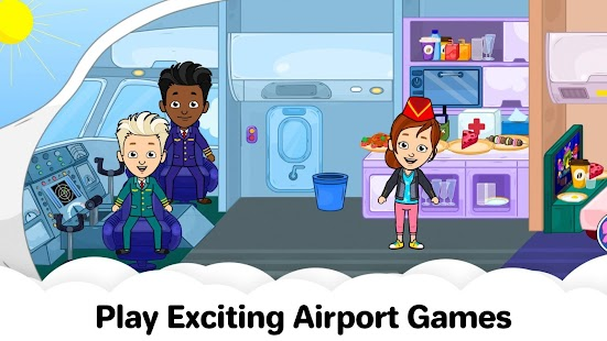 My Airport City: Kids Town Airplane Games for Free for pc