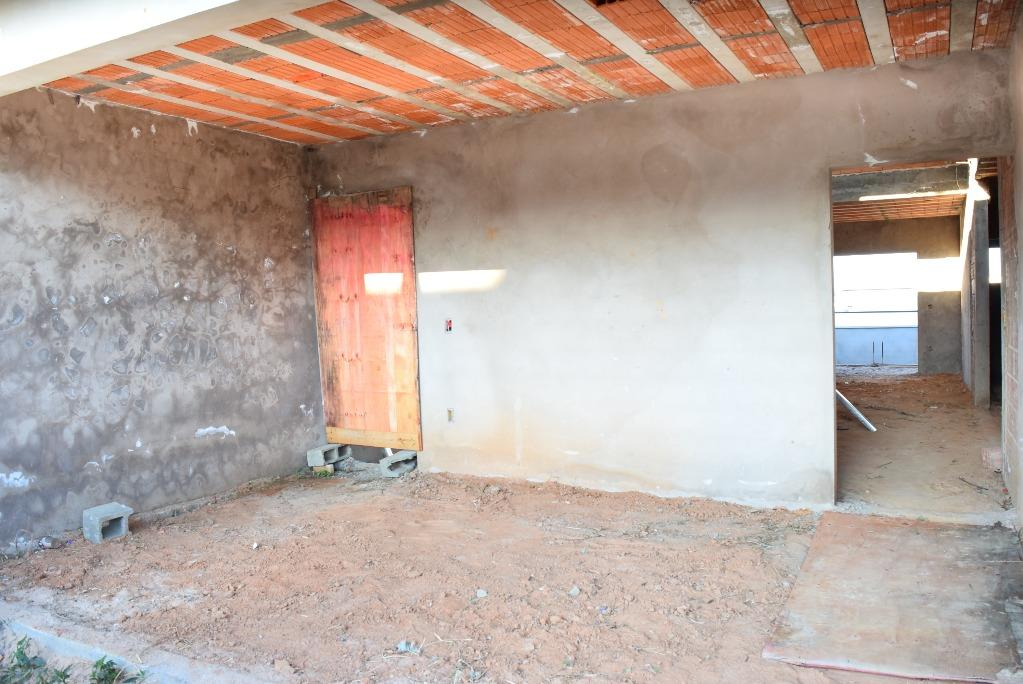 Casa Térrea em Construção com 3 dormitórios à venda, 149 m² por R$ 400.000 - Residencial Real Park Sumaré - Sumaré/SP