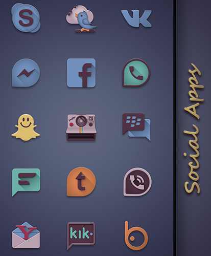 Eighties retro fun icon pack Screenshot 5