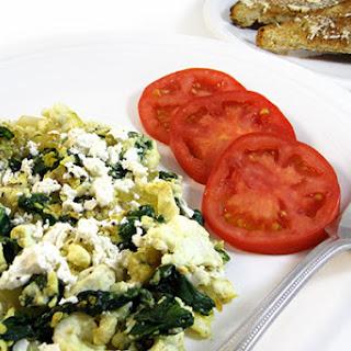 Onion Spinach Egg Scramble Recipes