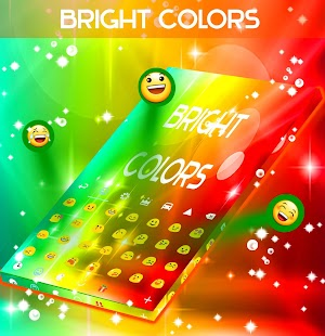 Bright Colors Keyboard - screenshot