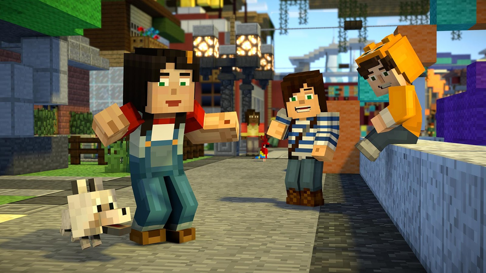 Minecraft Story Mode Staffel Android Spiele Download - Minecraft pc spiel spielen