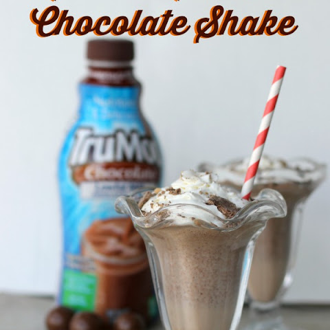 Malted Milk Ball Chocolate Milkshake