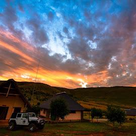 443 by Doornkop Photos Hein van Niekerk - Landscapes Cloud Formations