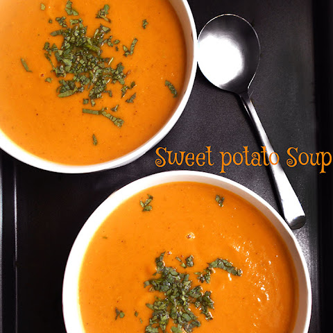 Easy Sweet Potato Soup #SundaySupper