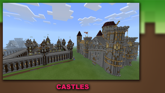 Buildings for Minecraft PE Pro Screenshot