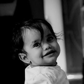 Smiling baby  by Charan Vicky - Babies & Children Child Portraits