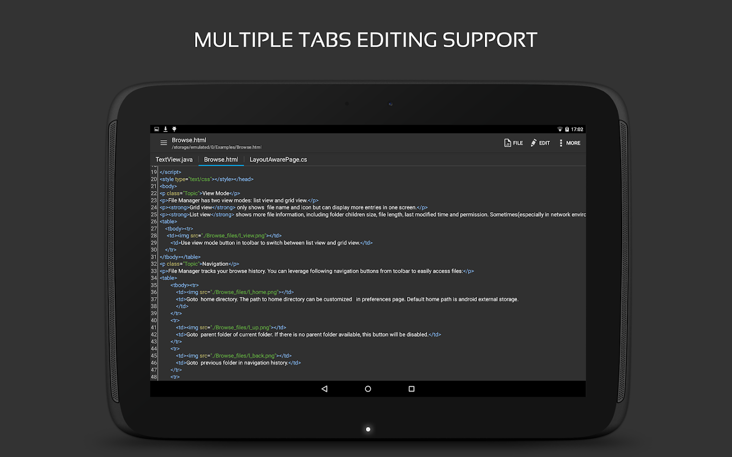 QuickEdit Text Editor Screenshot 11
