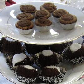 Tea Table Chocolate Treats by Cheryl Beaudoin - Food & Drink Candy & Dessert ( treats, chocolate, food, snacks, table, tea )