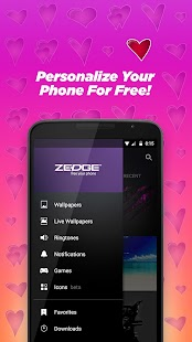 App ZEDGE™ Ringtones & Wallpapers APK for Kindle