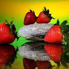 Strawberry delight by Janette Ho - Food & Drink Fruits & Vegetables