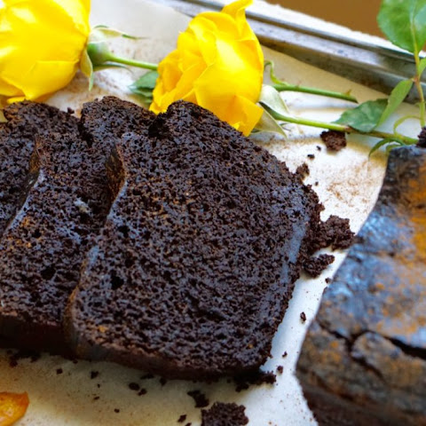 Healthy, Indulgent Deep-Dark Chocolate Apple Loaf