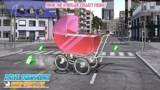 Drive Transport Baby Stroller apk screenshot
