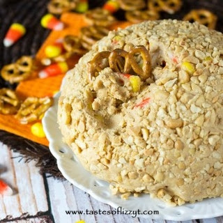 Candy Corn Peanut Butter Ball