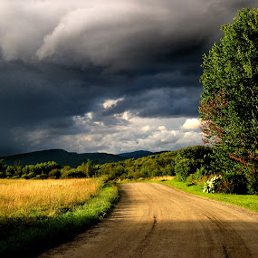 Storm Light by Dorothy Koval - Landscapes Weather ( storm comming, summer storm, pwcfoulweather, weather light, natural drama, storm clouds )