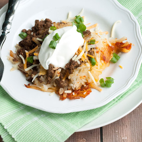 Slow Cooker Spicy Taco Baked Potatoes & Giveaway