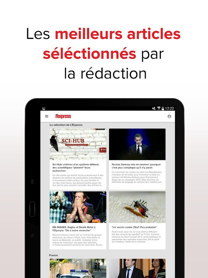 L'Express : l'actu en continu Screenshot 11