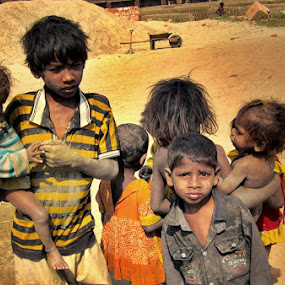 forgotten childhood by Saurav Bhattacharyya - Babies & Children Children Candids