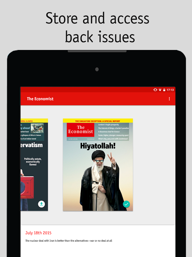 The Economist Screenshot 14