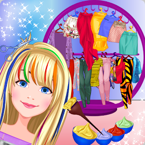 Hair Salon - Fancy Girl Games