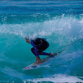 Tubed by George Watson - Sports & Fitness Surfing