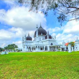 Masjid Zahir Alor Setar by Syed Mohd Yusrie Al-Jefri - Buildings & Architecture Public & Historical ( muslim, masjid, islamic, mosque, landscape )