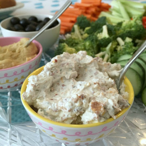 Cheesy Bacon Vegetable Dip
