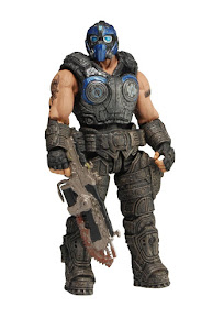 "Фигурка ""Gears of War 3 3/4"" Series 1 - Clayton Carmine /4шт"