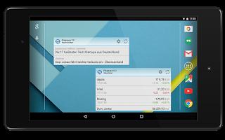 Screenshot of Finanzen100 Börse & Aktien
