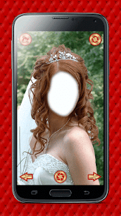 Wedding Hairstyle Photo Editor- screenshot