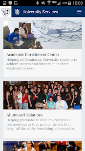 Dominican University - screenshot