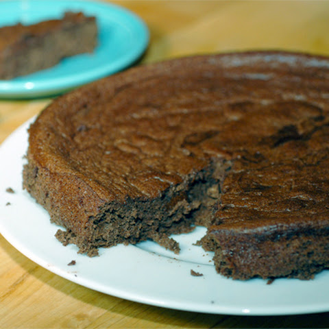 Flourless Chocolate Banana Cake